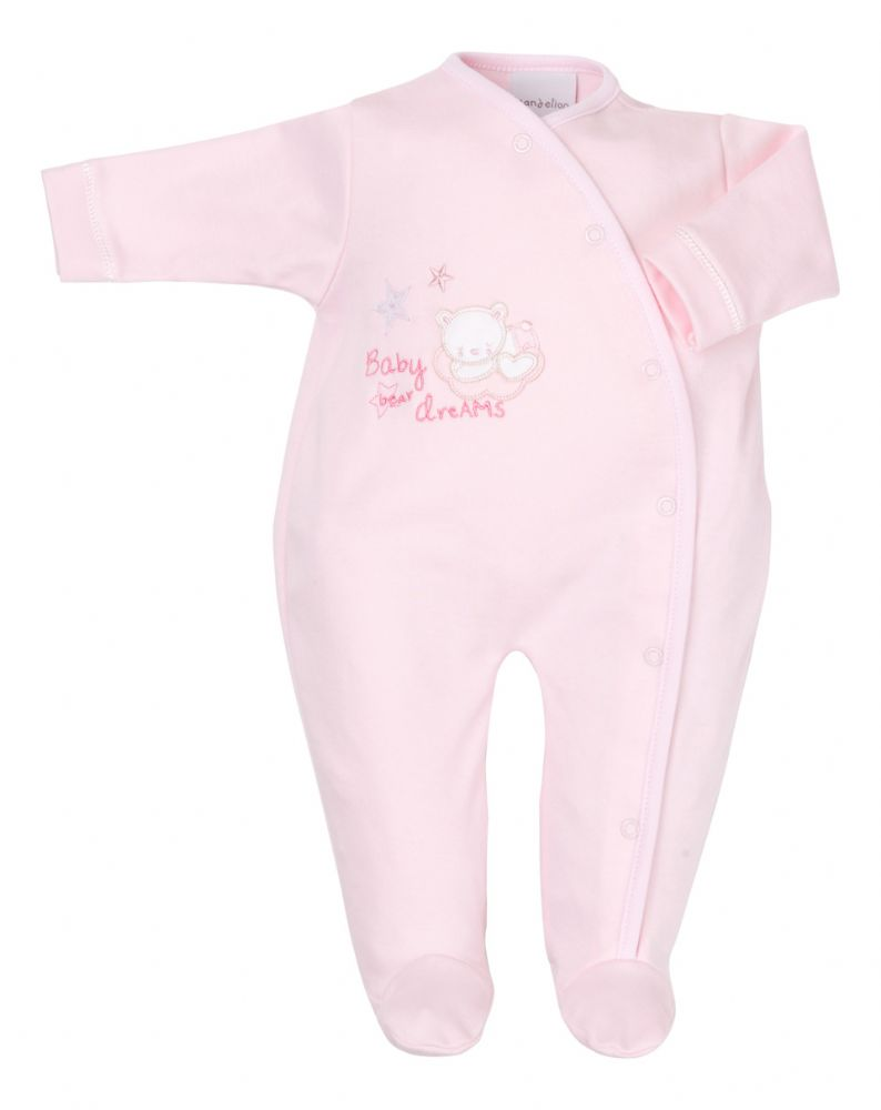 AV1872 Tiny baby bear Cotton sleepsuit